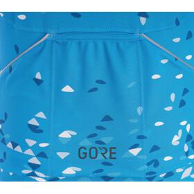 GORE WEAR C3 Petals Jersey Dam dynamic cyan/ciel blue